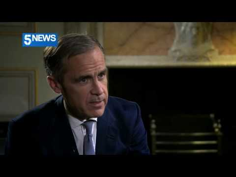 Mark Carney tells Sian Williams: People should feel re-assured