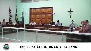 Sessão da Câmara 14.03.18
