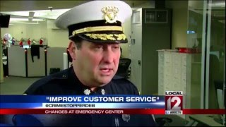 "Changes at emergency center to ""improve customer service"""