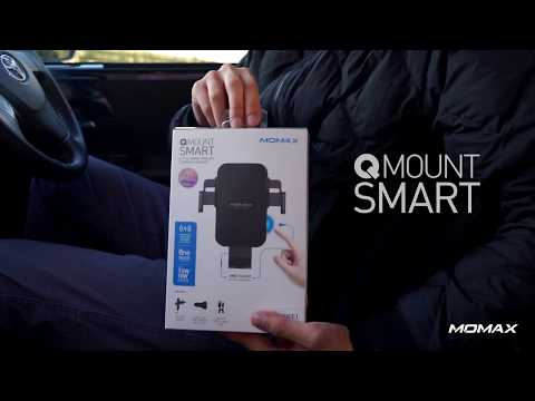 MOMAX - Q. Mount Smart Auto Clamping Wireless Charging Car Mount (EN)
