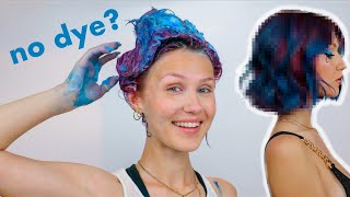 Dyeing my hair WITHOUT using hair dyes