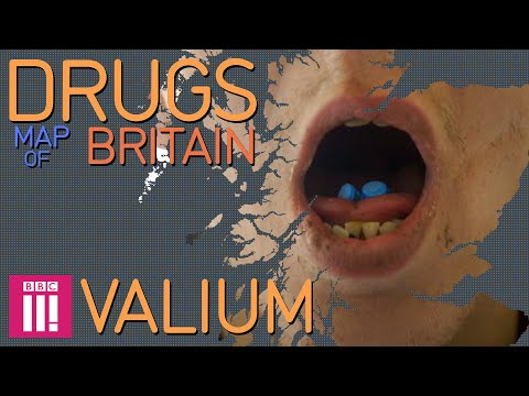 Scotlands Valium Crisis  Drugs Map of Britain