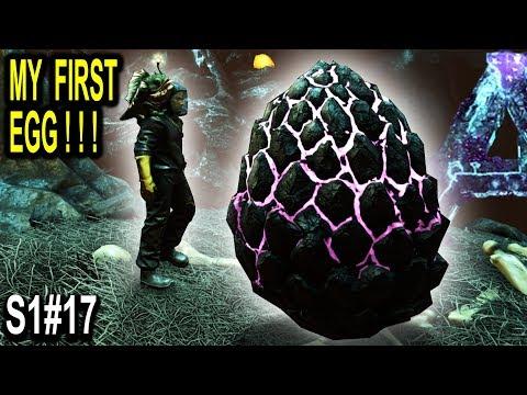 🐲ARK STEALING MY FIRST ROCK DRAKE EGG!! INSANE ADVENTURE!! Ark Survival Evolved Aberration Ep17