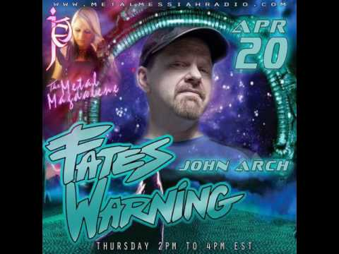 John Arch Fates Warning interview on The Metal Magdalene w Jet