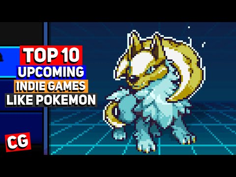Top 10 Upcoming Indie Games Like Pokemon (Monster Taming Games)