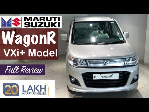 Maruti WagonR Vxi Plus Top Model Interior,Exterior,Features Walkaround and Review