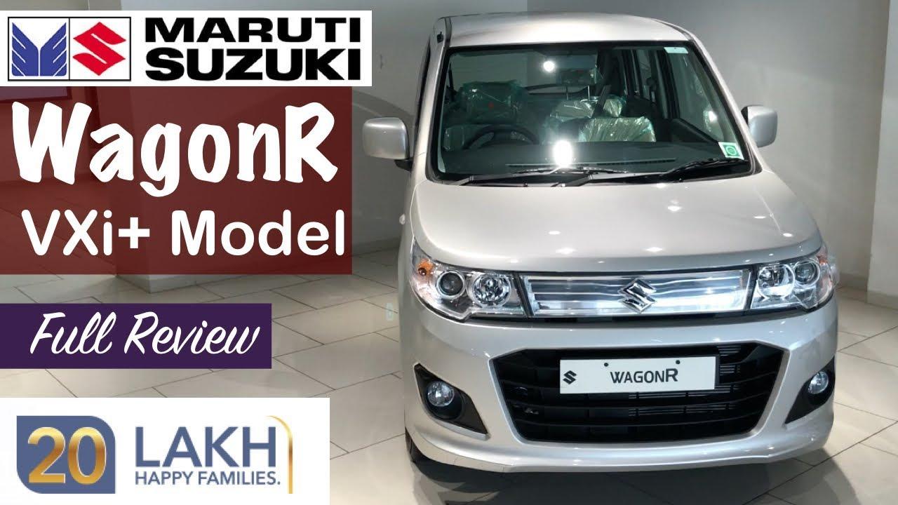 wagon r top model 2019