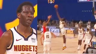 Bol Bol Shocking Giant Makes NBA Players Look Like Kids In Nuggets Debut!