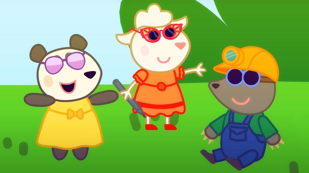 🦋 Долли и друзья. Оригинальные серии – Сборник 4 | Развивающий мультфильм для малышей