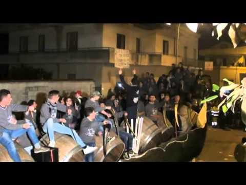 Festa di Sant'Antuono 2014 a Macerata Campania (Caserta): la sfilata delle Battuglie di Pastellessa