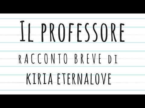 IL PROFESSORE - Un breve racconto del mistero