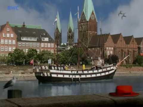 Bremen Uferpromenade Schlachte Youtube