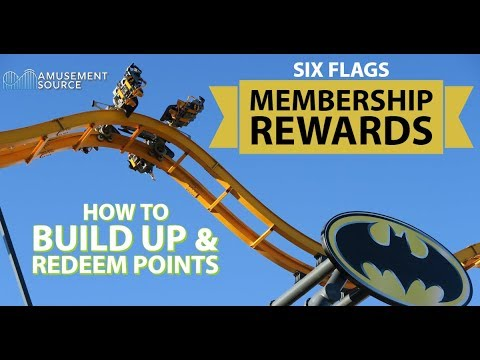 Info Vlog - How to Build Up & Redeem Membership Rewards Points (Six Flags)