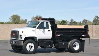 1994 GMC C7500 5 Yard Dump Truck