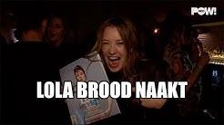 Lola Brood met blote pantoffel in de Playboy