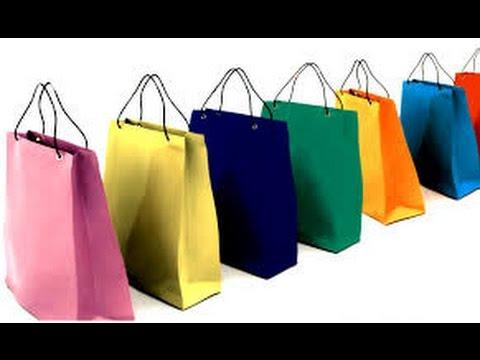 Como hacer bolsas para regalo youtube - Hacer bolsas de papel en casa ...