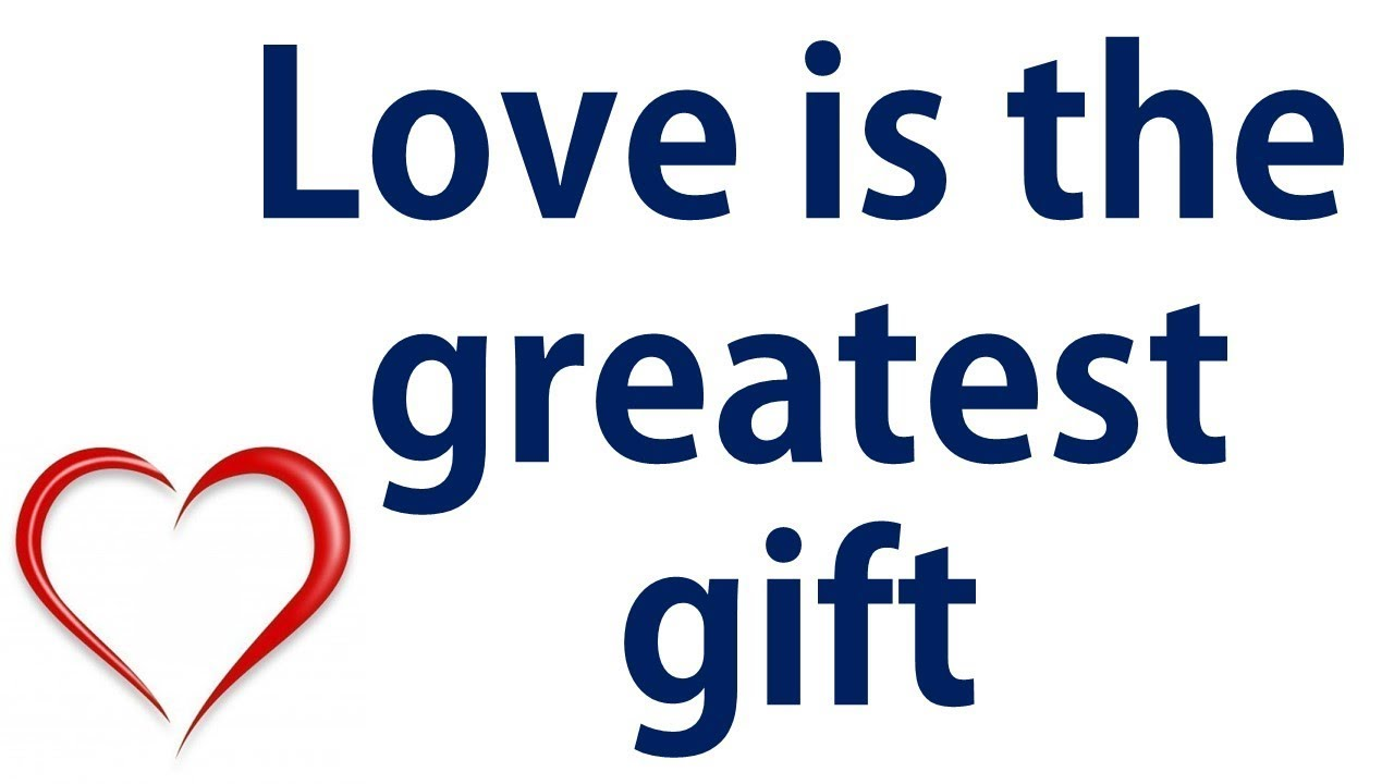 Love Is The Greatest Gift - Peterson Praise | #PetersonPraise