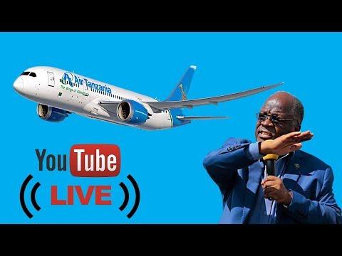 #LIVE | Shuhudia upokeaji wa Ndege ya kisasa na Rais Dk. John Pombe Magufuli (AIRBUS A220N-300)