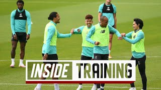 Baixar Inside Training: Small-sided games and penalty drama as the champions return to Melwood