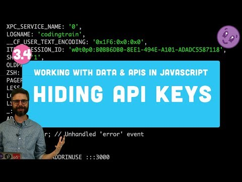 3.4 Hiding API Keys with Environment Variables (dotenv) and Pushing Code to GitHub