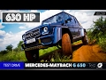 Mercedes-Maybach G 650 Landaulet - 630 HP + 1000 Nm + Test Drive Luxury Review Automobile Off-Road