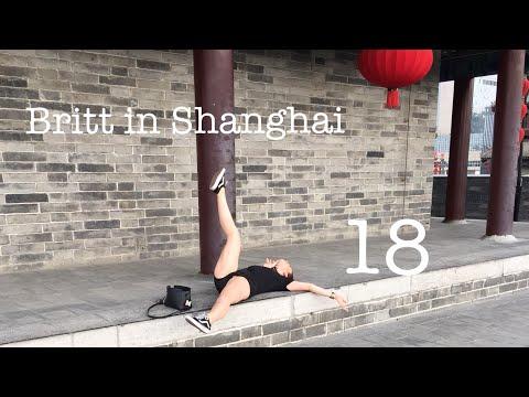 Britt in Shanghai #18 - NAAR XI'AN MET DE NACHTTREIN