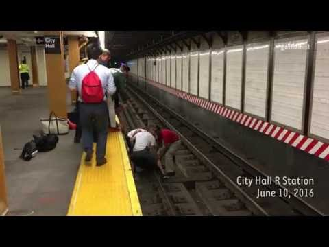 Watch These NYC Subway Heroes Join Forces To Rescue A Man From The Tracks