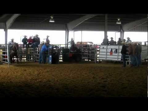 Hunter Davis & Rickey Decuir at Bell City High School Rodeo