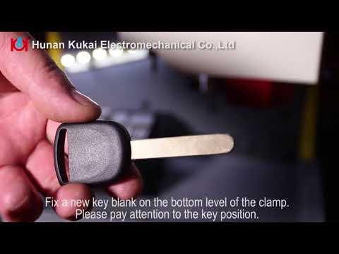 New version SEC-E9 key machine cut Honda keys by 2 ways find data,3 ways know tooth numbers