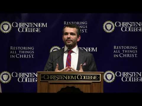 Dr.  Ryan Anderson | Marriage Equality: Religious Freedom or