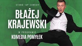 """Błażej Krajewski - """"KOMEDIA POMYŁEK"""" (całe nagranie)   stand-up   2020"""