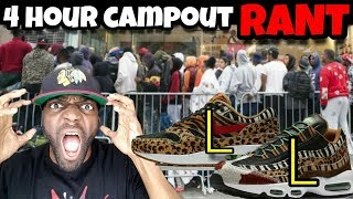 Security Kicked Me Out! 4 Hour Campout Fail For Air Max Animal Pack