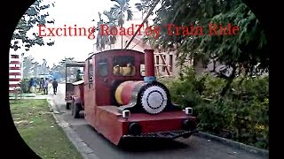 Exciting Road Toy Train Ride in Science City, Kolkata