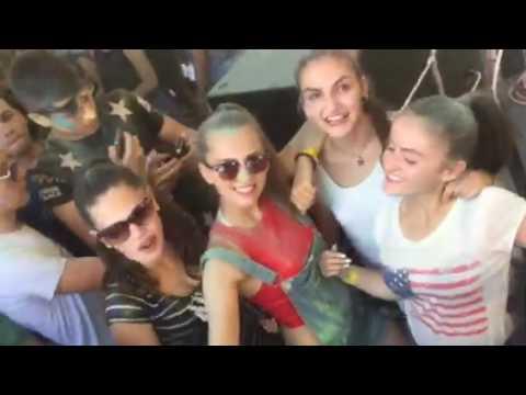 Color Party at Summer Club Aqua Kocani