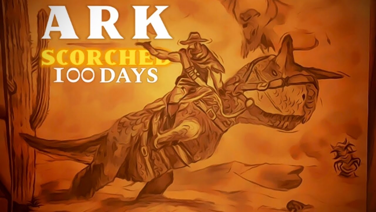 Download I Survived 100 Days of Hardcore ARK Scorched Earth | Survival Evolved