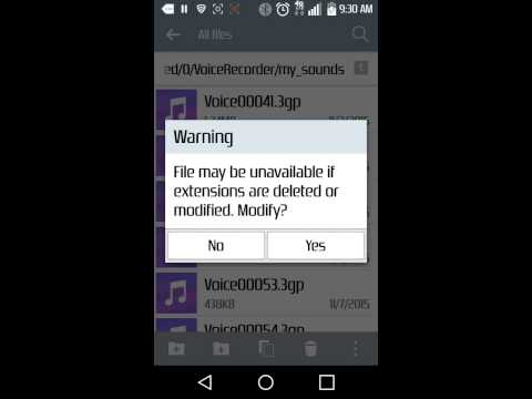 How to change a file type with any Android. Easy