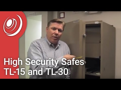 High Security Safes TL-15, TL-30 with Dye the Safe Guy