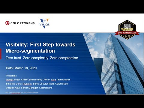 Visibility: First Step to Micro segmentation by Col Inderjeet Singh
