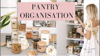 PANTRY ORGANISATION | Market Haul + *What's Inside my Fridge*