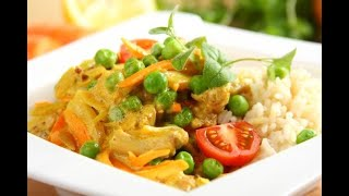 Przepis - Kurczak curry z jogurtem (przepisy kulinarne Przepisy.pl)