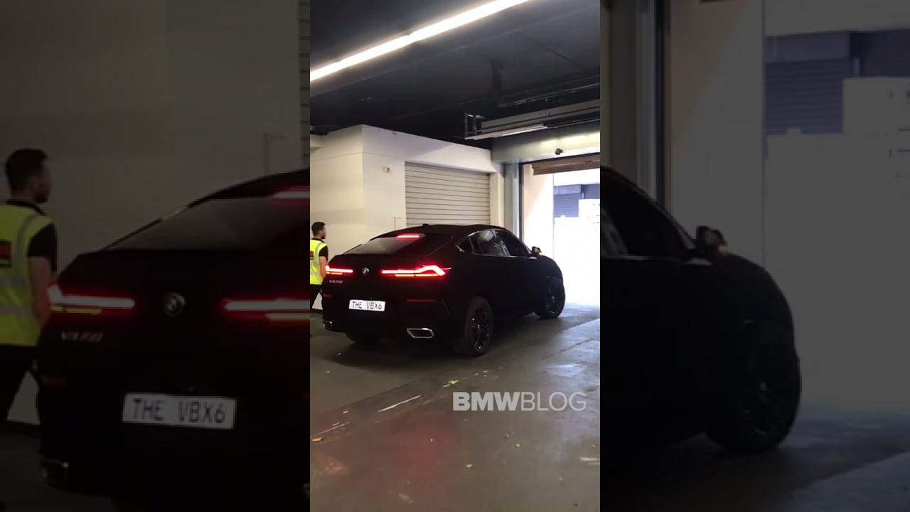 Download EXCLUSIVE: BMW X6 Vantablack rolling on the street