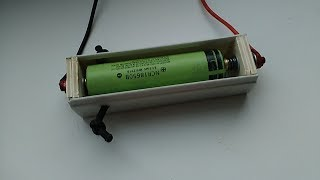 как сделать высокотоковый держатель  холдер  корпус для аккумулятора типа 18650 своими руками