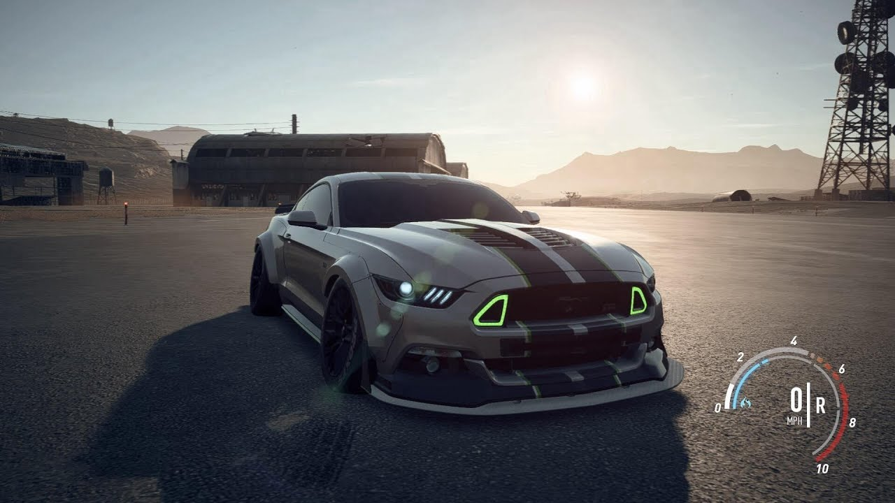 Insane Mustang Rtr Build Need For Speed Payback Youtube