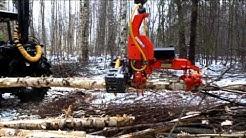 Naarva S23C sykeharvesteri maataloustraktoriin tai metsäkärryyn