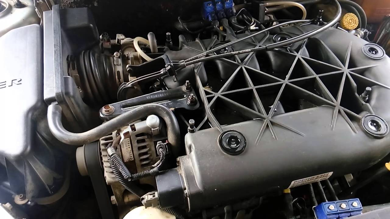 Chrysler Pacifica 3 5 Engine Rocker Arms Noise Шум сломанного рокера