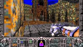 Hexen: Beyond Heretic Gameplay