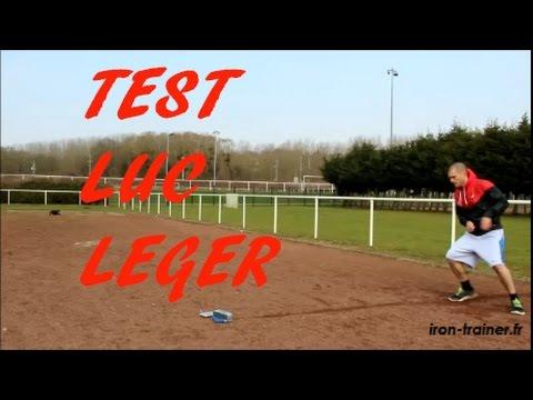 Test Luc Léger : Entrainement