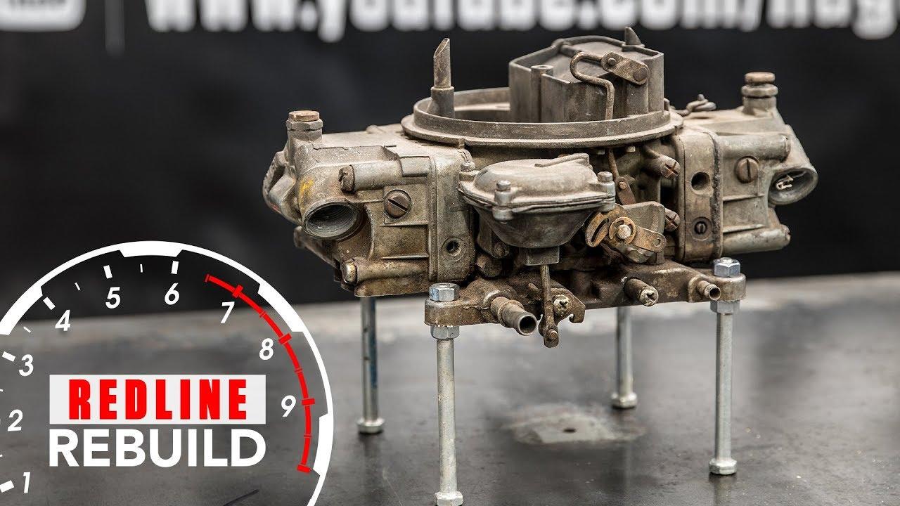 Holley Carburetor Rebuild Time-Lapse | Redline Rebuild - S1E5