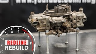 Holley Carburetor Rebuild Time-Lapse | Redline Rebuild #5