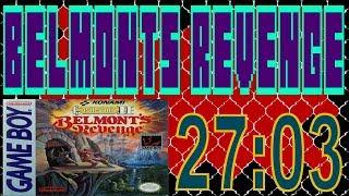 Castlevania II: Belmont's Revenge Any% Speedrun 27:03 [NTSC/PAL]